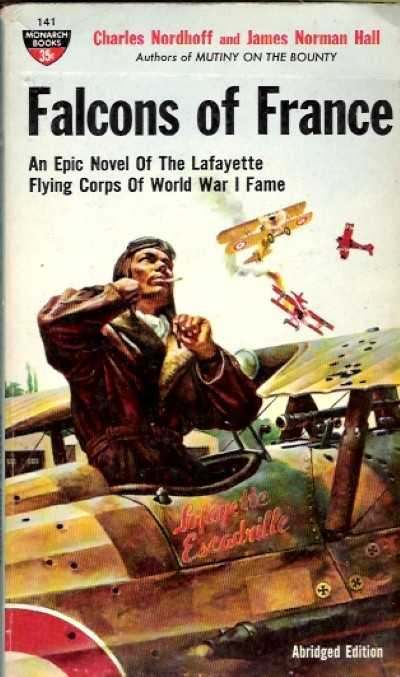 >FALCONS OF FRANCE. AN EPIC NOVEL OF THE LAFAYETTE <