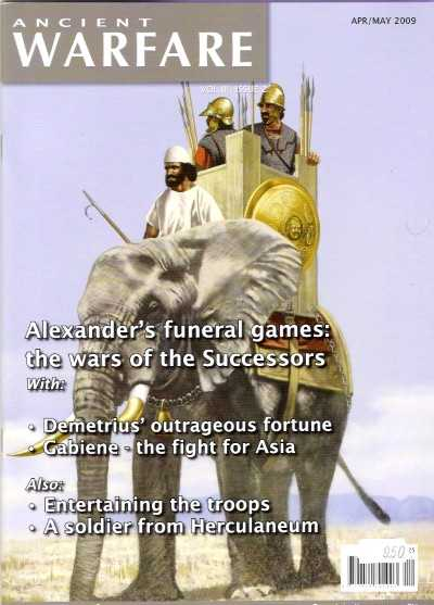 >ANCIENT WARFARE VOL III ISSUE 2. THE WARS OF THE SUCCESSORS<