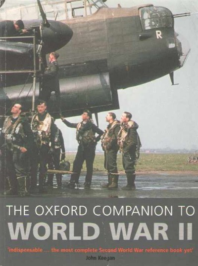 >THE OXFORD COMPANION TO WORLD WAR II<