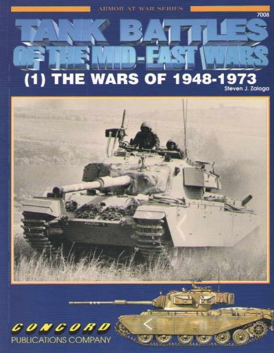 >TANK BATTLES OF THE MID-EAST WARS (1) THE WARS OF 1948-1973<