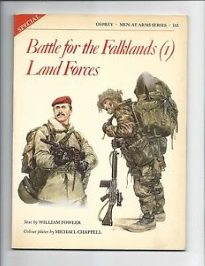 >MAA133 BATTLE FOR THE FALKLANDS (1) LAND FORCES<