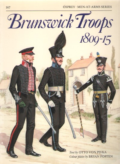 >MAA167 BRUNSWICK TROOPS 1809-15<