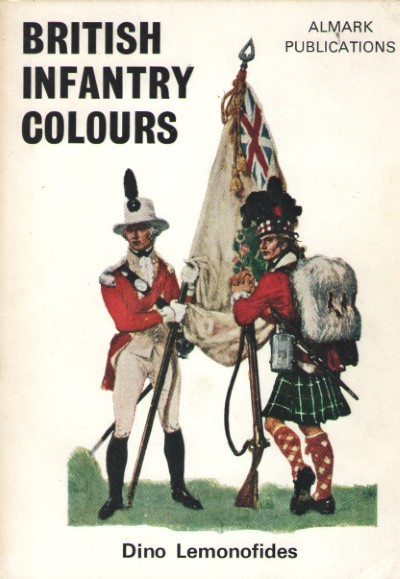 >BRITISH INFANTRY COLOURS<