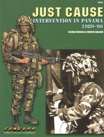 >JUST CAUSE INTERVENTION IN PANAMA 1989-1990<