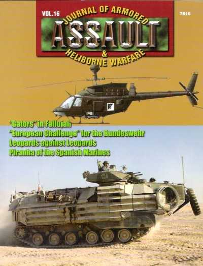 >JOURNAL OF ARMORED ASSAULT e HELIBORNE WARFARE<