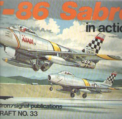 >F-86 SABRE IN ACTION<