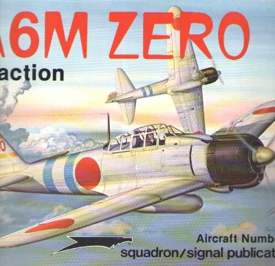 >A6M ZERO IN ACTION<