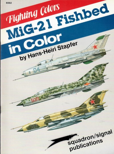 >MIG-21 FISHBED IN COLOR<