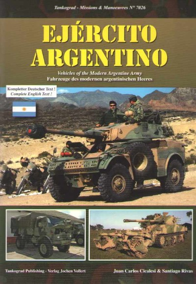 >EJERCITO ARGENTINO. VEHICLES OF THE MODERN ARGENTINE ARMY<
