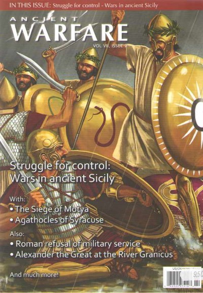 >ANCIENT WARFARE  VOL VII, ISSUE 2<