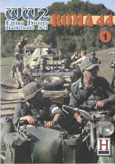 >ROMA 44. WW2 LIVING HISTORY BATTLEFIELD SET N.1<