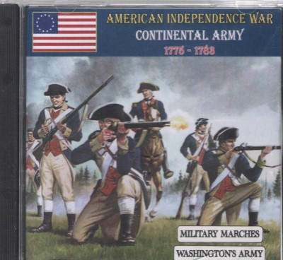 >AMERICAN INDEPENDENCE WAR CONTINENTAL ARMY, 1775-1783 (CD)<