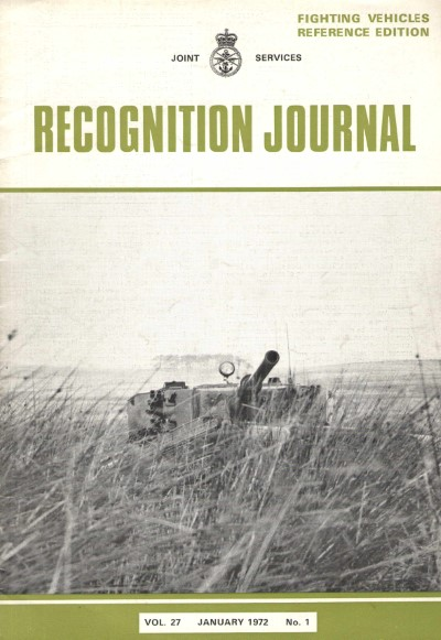 >RECOGNITION JOURNAL VOL.27 JANUARY 1972 N.1<