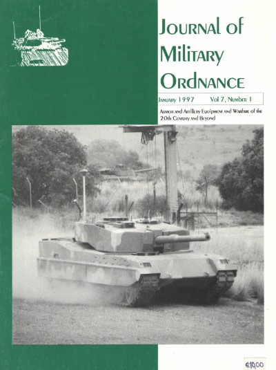 >JOURNAL OF MILITARY ORDNANCE VOL.7, NUMBER 1 JANUARY 1977<