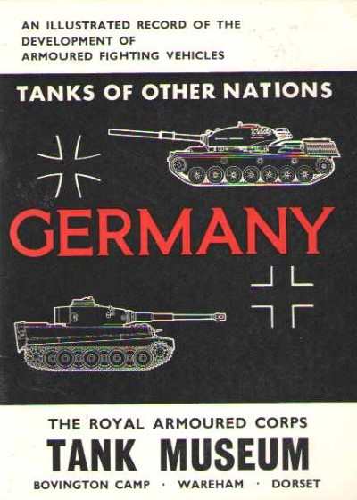 >TANKS OF OTHER NATIONS: GERMANY<