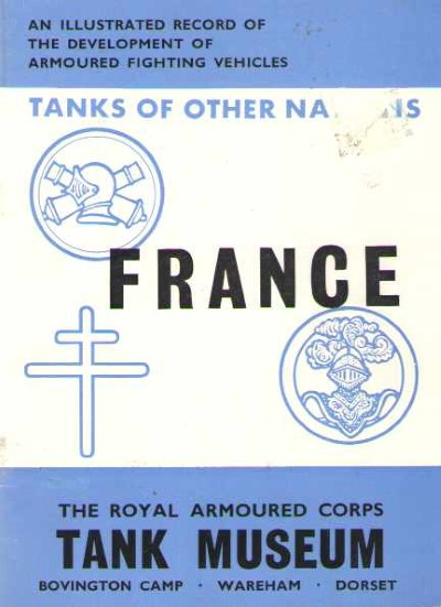 >TANKS OF THE OTHER NATIONS: FRANCE<