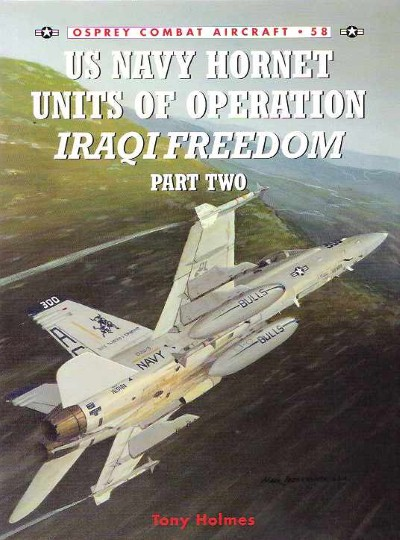 >CA58 US NAVY HORNET UNITS OF OPERATION IRAQI FREEDOM PART 2<