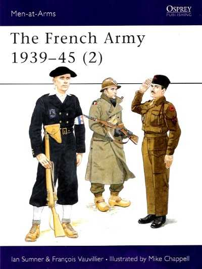 >MAA318 FRENCH ARMY 1939-45 (2)<