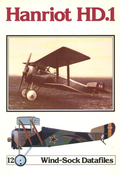 >HANRIOT HD.1 (WINDSOCK DATAFILES 12)<