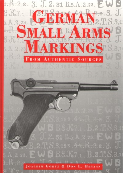 >GERMAN SMALL ARMS MARKINGS<