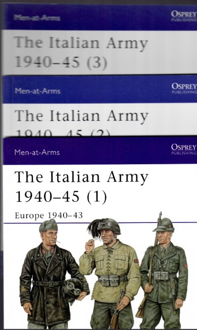 >THE ITALIAN ARMY VOL. 1-2-3<