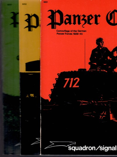 >PANZER COLORS I-II-III<