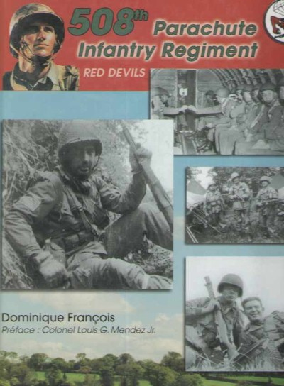 >508 PARACHUTE INFANTRY REGIMENT. RED DEVILS<
