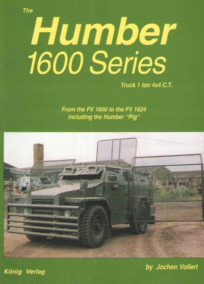 >THE HUMBER 1600 SERIES. TRUCK 1 TON 4X4 C.T.<