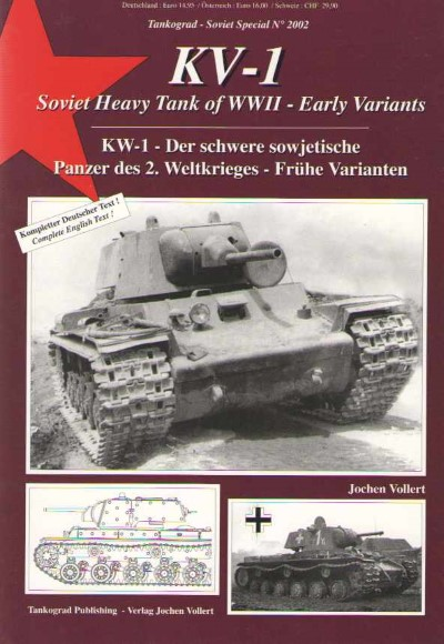 >KV-1 SOVIET HEAVY TANK OF WWII, EARLY VIARIATIONS<