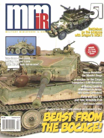 >MILITARY MINIATURES IN REVIEW N. 51<