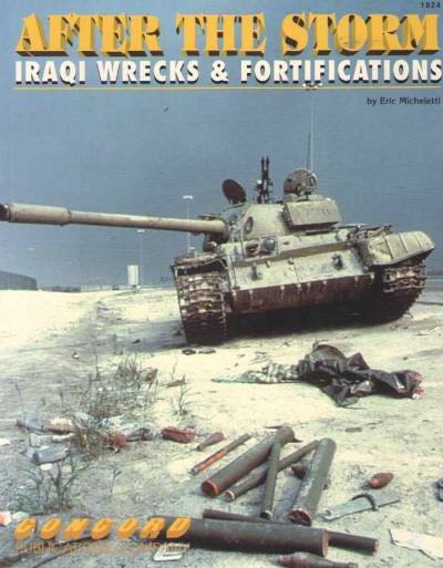 >AFTER THE STORM. IRAQI WRECKS e FORTIFICATIONS<