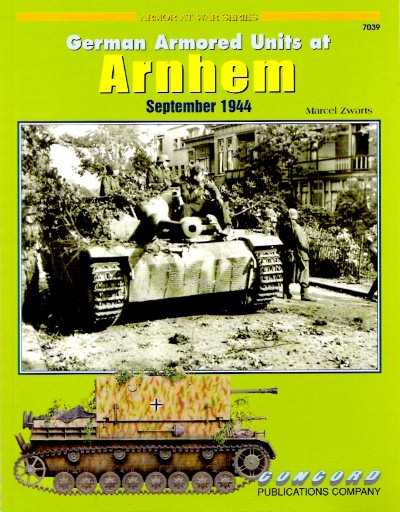 >GERMAN ARMORED UNITS AT ARNHEM <