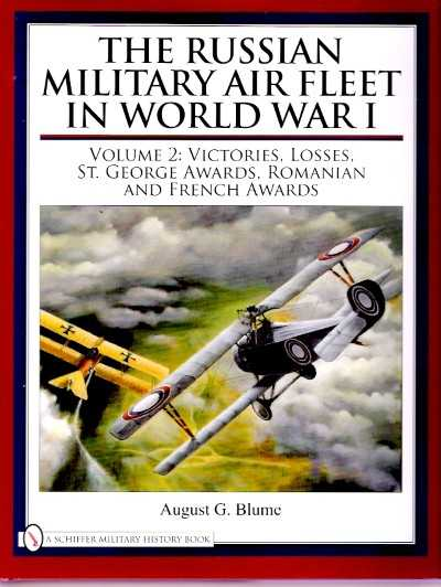 >RUSSIAN MILITARY AIR FLEET IN WORLD WAR I VOL 2<