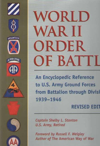>WORLD WAR II ORDER OF BATTLE<