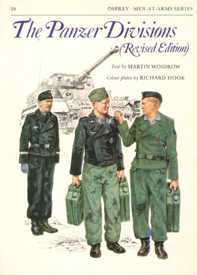 >MAA24 THE PANZER DIVISIONS (REVISED EDITIONS)<