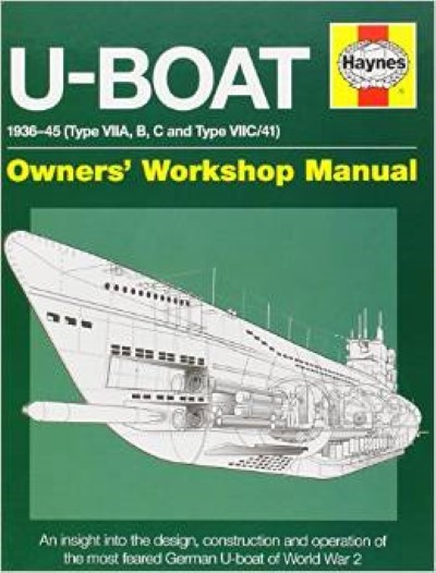 >U-BOAT 1936-46 (TYPE VIIA, B, C AND TYPE VIIC/41)<