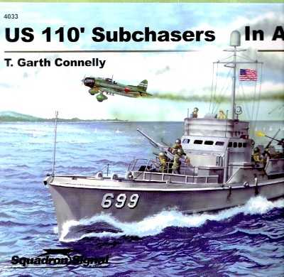 >US 110' SUBCHASERS IN ACTION<