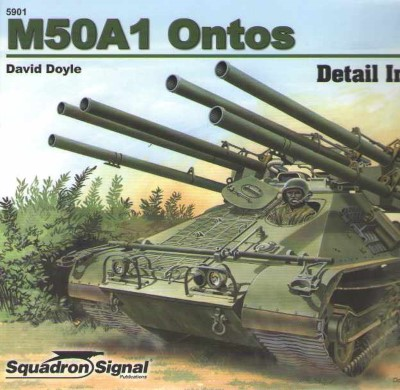 >M50A1 ONTOS DETAIL IN ACTION<