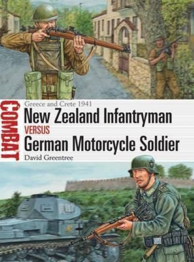 >COM23 NEW ZEALAND INFANTRYMAN VERSUS GERMAN MOTORCYCLE SOLDIER<
