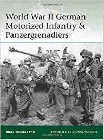 >ELI218 WORLD WAR II GERMAN MOTORIZED INFANTRY e PANZERGRENADIERS<