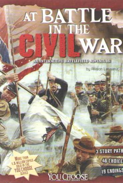 >AT BATTLE IN THE CIVIL WAR<