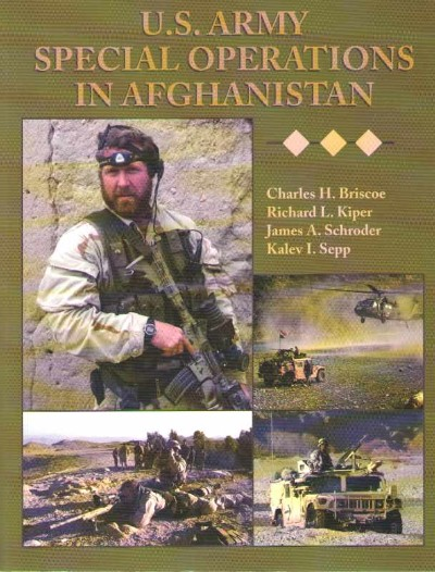 >US ARMY SPECIAL OPERATIONS IN AFGHANISTAN<