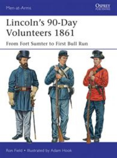 >MAA489 LINCOLN'S 90-DAY VOLUNTEERS 1861<