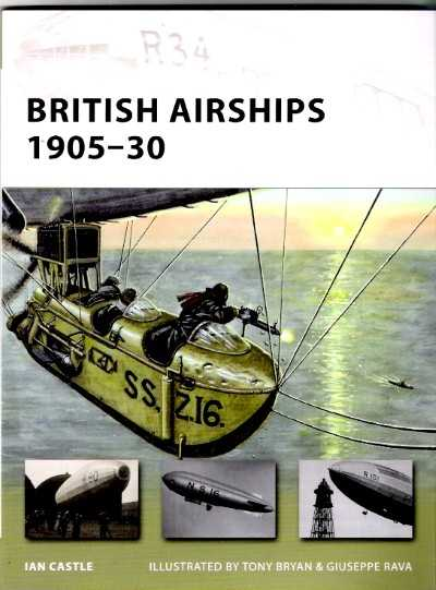 >NV155 BRITISH AIRSHIPS 1905-30<