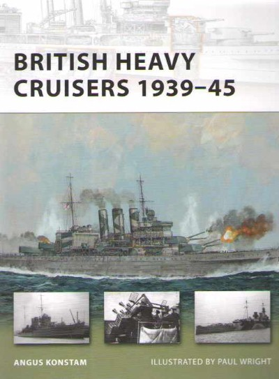 >NV190 BRITISH HEAVY CRUISERS<
