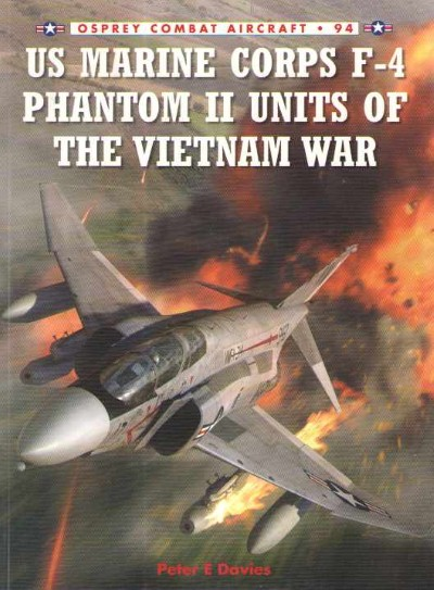 >CA94 US MARINE CORPS F-4 PHAMTOM II UNITS OF THE VIETNAM WAR<