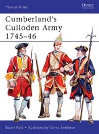>MAA483 CUMBERLAND'S CULLODEN ARMY 1745–46<