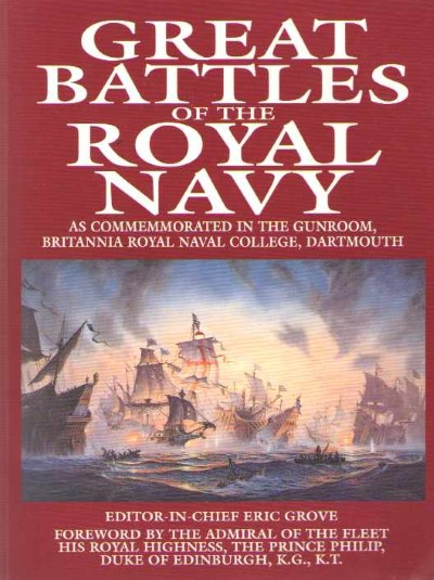 >GREAT BATTLES OF THE ROYAL NAVY<