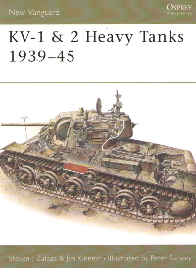 >NV17 KV-1 e 2 HEAVY TANKS 1939-45<