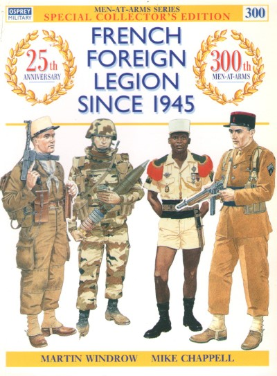 >MAA300 FRENCH FOREIGN LEGION SINCE 1945<